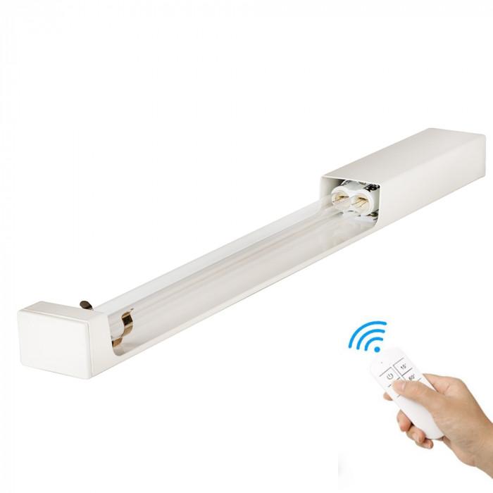 Бактерицидний опромінювач настінний SM Technology SMT-W60/360 безозоновий 60 Вт з пультом дистанційного керування і таймером